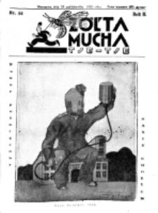 Żółta Mucha Tse-Tse. R. 2, nr 54 (28 października 1930)