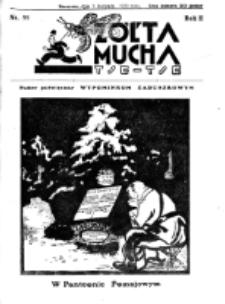 Żółta Mucha Tse-Tse. R. 2, nr 55 (3 listopada 1930)
