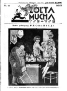 Żółta Mucha Tse-Tse. R. 2, nr 58 (25 listopada 1930)