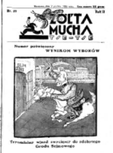 Żółta Mucha Tse-Tse. R. 2, nr 59 (2 grudnia 1930)