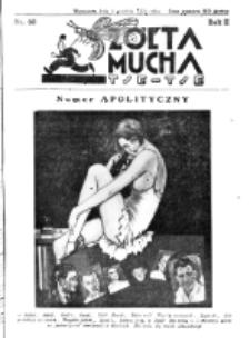 Żółta Mucha Tse-Tse. R. 2, nr 60 (9 grudnia 1930)