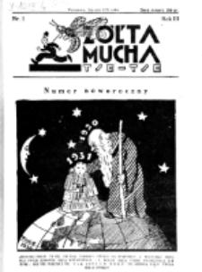Żółta Mucha Tse-Tse. R. 3, nr 1 (styczeń 1931)