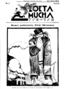 Żółta Mucha Tse-Tse. R. 3, nr 2 (11 stycznia 1931)