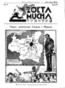 Żółta Mucha Tse-Tse. R. 3, nr 3 (18 stycznia 1931)