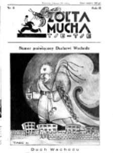 Żółta Mucha Tse-Tse. R. 3, nr 6 (2 lutego 1931)