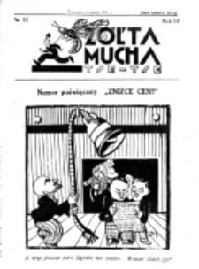 Żółta Mucha Tse-Tse. R. 3, nr 11 (2 marca 1931)
