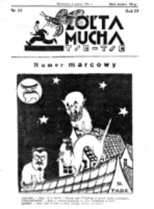Żółta Mucha Tse-Tse. R. 3, nr 12 (8 marca 1931)
