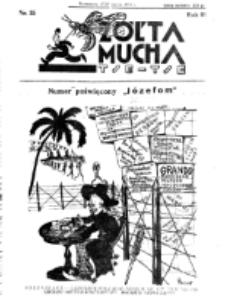 Żółta Mucha Tse-Tse. R. 3, nr 15 (17/23 marca 1931)