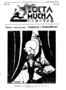 Żółta Mucha Tse-Tse. R. 3, nr 16 (30 marca 1931)