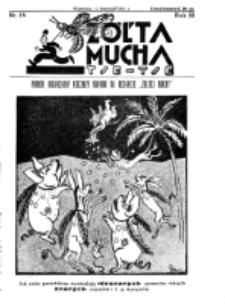 Żółta Mucha Tse-Tse. R. 3, nr 18 (12 kwietnia 1931)