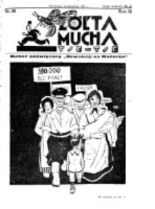 Żółta Mucha Tse-Tse. R. 3, nr 20 (26 kwietnia 1931)