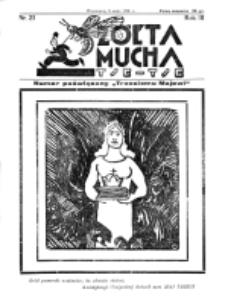 Żółta Mucha Tse-Tse. R. 3, nr 21 (3 maja 1931)