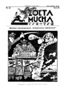 Żółta Mucha Tse-Tse. R. 3, nr 22 (10 maja 931)