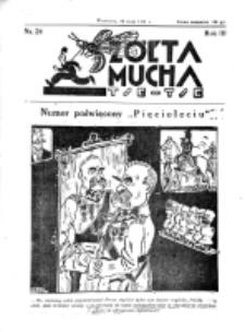 Żółta Mucha Tse-Tse. R. 3, nr 24 (18 maja 1931)
