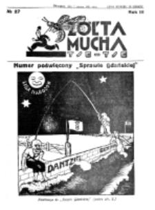 Żółta Mucha Tse-Tse. R. 3, nr 27 (7 czerwca 1931)