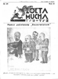 Żółta Mucha Tse-Tse. R. 3, nr 29 (15 czerwca 1931)