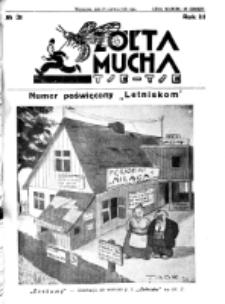 Żółta Mucha Tse-Tse. R. 3, nr 31 (22 czerwca 1931)