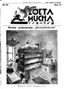 Żółta Mucha Tse-Tse. R. 3, nr 33 (29 czerwca 1931)