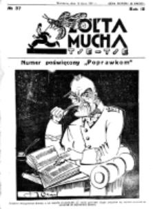Żółta Mucha Tse-Tse. R. 3, nr 37 (13 lipca 1931)