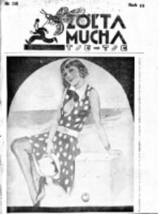 Żółta Mucha Tse-Tse. R. 3, nr 38 (1931)