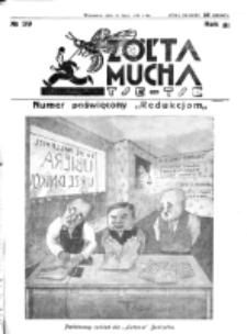 Żółta Mucha Tse-Tse. R. 3, nr 39 (26 lipca 1931)