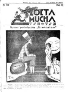 Żółta Mucha Tse-Tse. R. 3, nr 40 (2 sierpnia 1931)