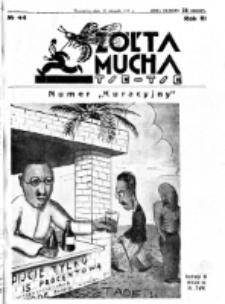 Żółta Mucha Tse-Tse. R. 3, nr 44 (23 sierpnia 1931)