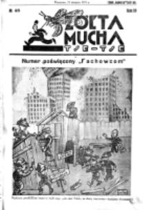 Żółta Mucha Tse-Tse. R. 3, nr 46 (31 sierpnia 1931)