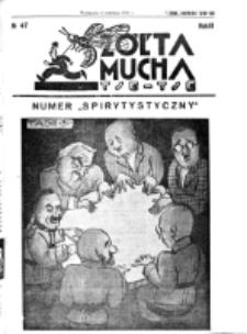 Żółta Mucha Tse-Tse. R. 3, nr 47 (6 września 1931)