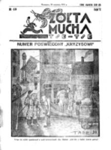 Żółta Mucha Tse-Tse. R. 3, nr 49 (20 września 1931)