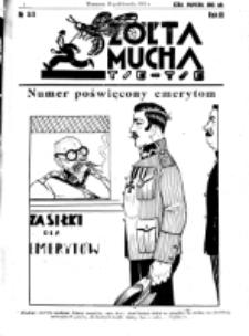 Żółta Mucha Tse-Tse. R. 3, nr 53 (18 października 1931)