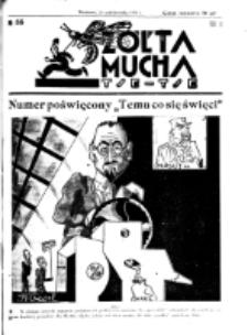 Żółta Mucha Tse-Tse. R. 3, nr 55 (26 października 1931)