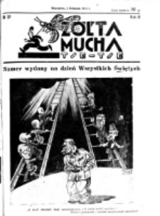 Żółta Mucha Tse-Tse. R. 3, nr 57 (2 listopada 1931)