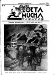 Żółta Mucha Tse-Tse. R. 3, nr 59 (15 listopada 1931)
