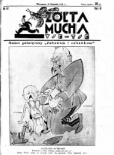 Żółta Mucha Tse-Tse. R. 3, nr 61 (23 listopada 1931)