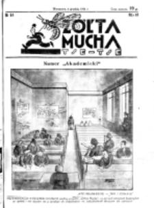 Żółta Mucha Tse-Tse. R. 3, nr 64 (6 grudnia 1931)