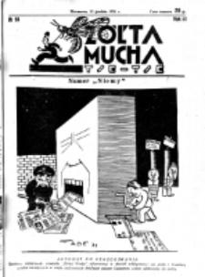 Żółta Mucha Tse-Tse. R. 3, nr 65 (13 grudnia 1931)