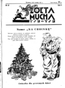 Żółta Mucha Tse-Tse. R. 3, nr 67 (25/27 grudnia 1931)