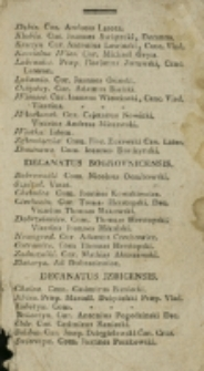 Elenchus Universi Cleri Dioecesis Vladislaviensis et Pomeraniae 1810