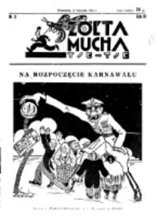 Żółta Mucha Tse-Tse. R. 4, nr 3 (17 stycznia 1932)