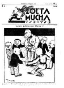 Żółta Mucha Tse-Tse. R. 4, nr 4 (24 stycznia 1932)