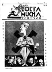 Żółta Mucha Tse-Tse. R. 4, nr 8 (21 lutego 1932)