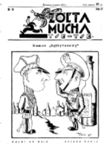 Żółta Mucha Tse-Tse. R. 4, nr 10 (6 marca 1932)