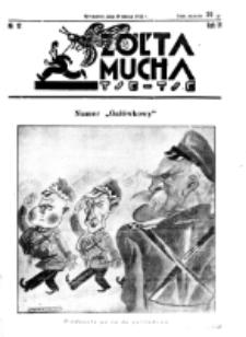 Żółta Mucha Tse-Tse. R. 4, nr 12 (19 marca 1932)