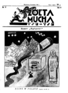 Żółta Mucha Tse-Tse. R. 4, nr 14 (3 kwietnia 1932)