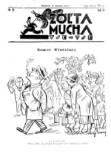 Żółta Mucha Tse-Tse. R. 4, nr 15 (10 kwietnia 1932)