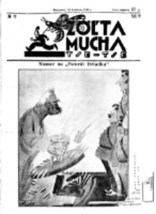 Żółta Mucha Tse-Tse. R. 4, nr 17 (24 kwietnia 1932)