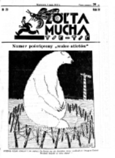 Żółta Mucha Tse-Tse. R. 4, nr 20 (9 maja 1932)