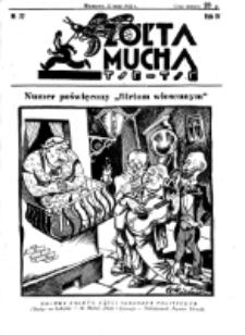 Żółta Mucha Tse-Tse. R. 4, nr 22 (22 maja 1932)