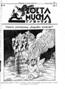 Żółta Mucha Tse-Tse. R. 4, nr 24 (5 czerwca 1932)